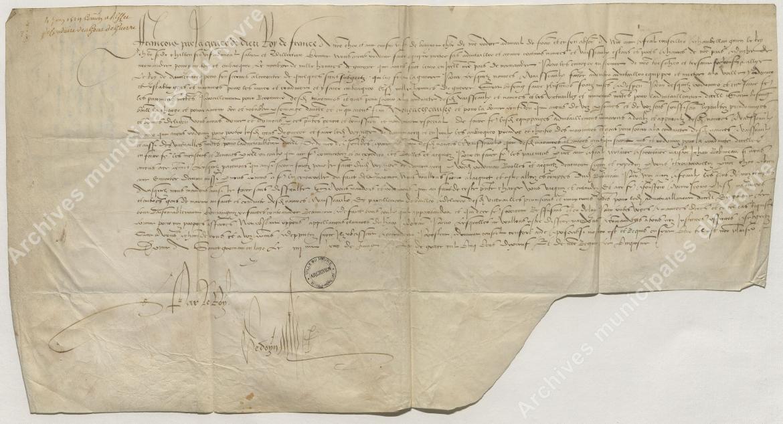 Envoi de gens de guerre du Danemark (4 juin 1519)