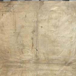 Verso de la lettre patentes confirmant les privilèges accordés (octobre 1528)